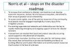 norris et al stops on the disaster roadmap