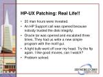 hp ux patching real life49