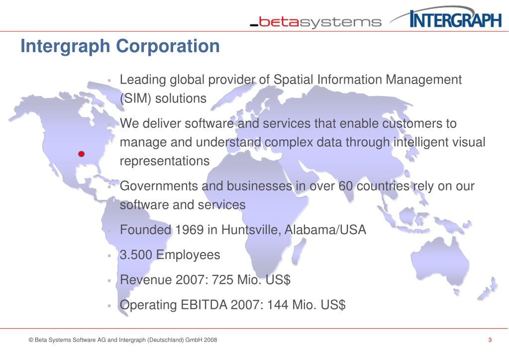 Intergraph Corporation