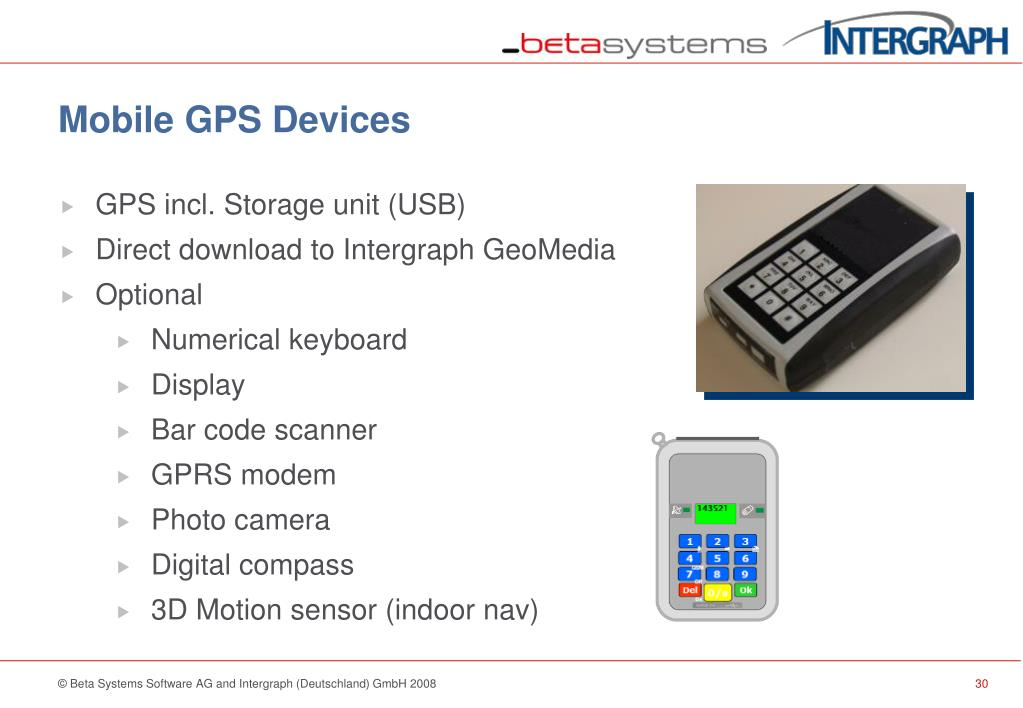 Mobile GPS Devices
