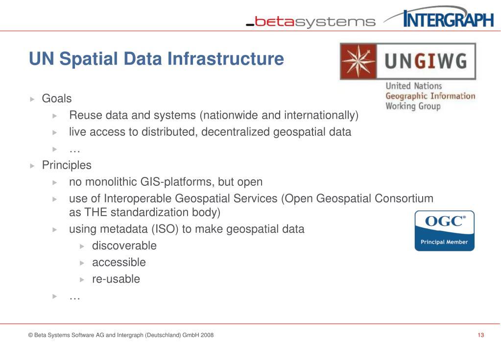 UN Spatial Data Infrastructure