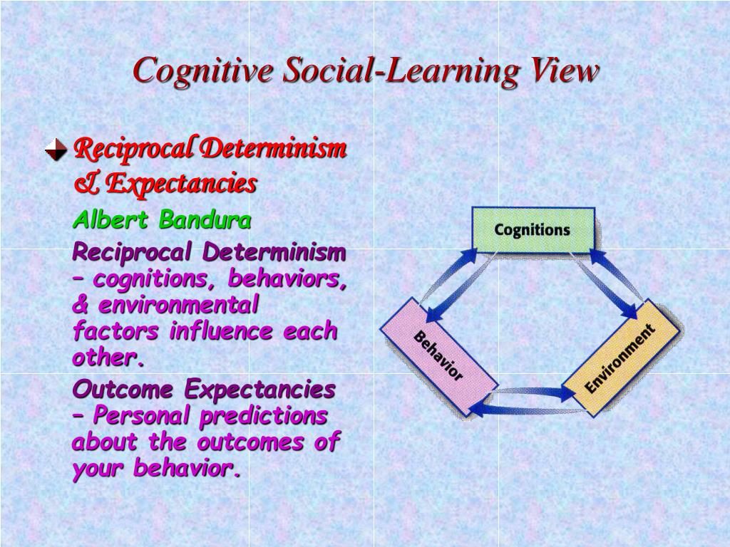 Cognitive Social-Learning View