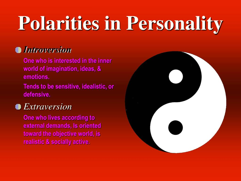 Polarities in Personality