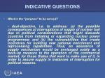 indicative questions26