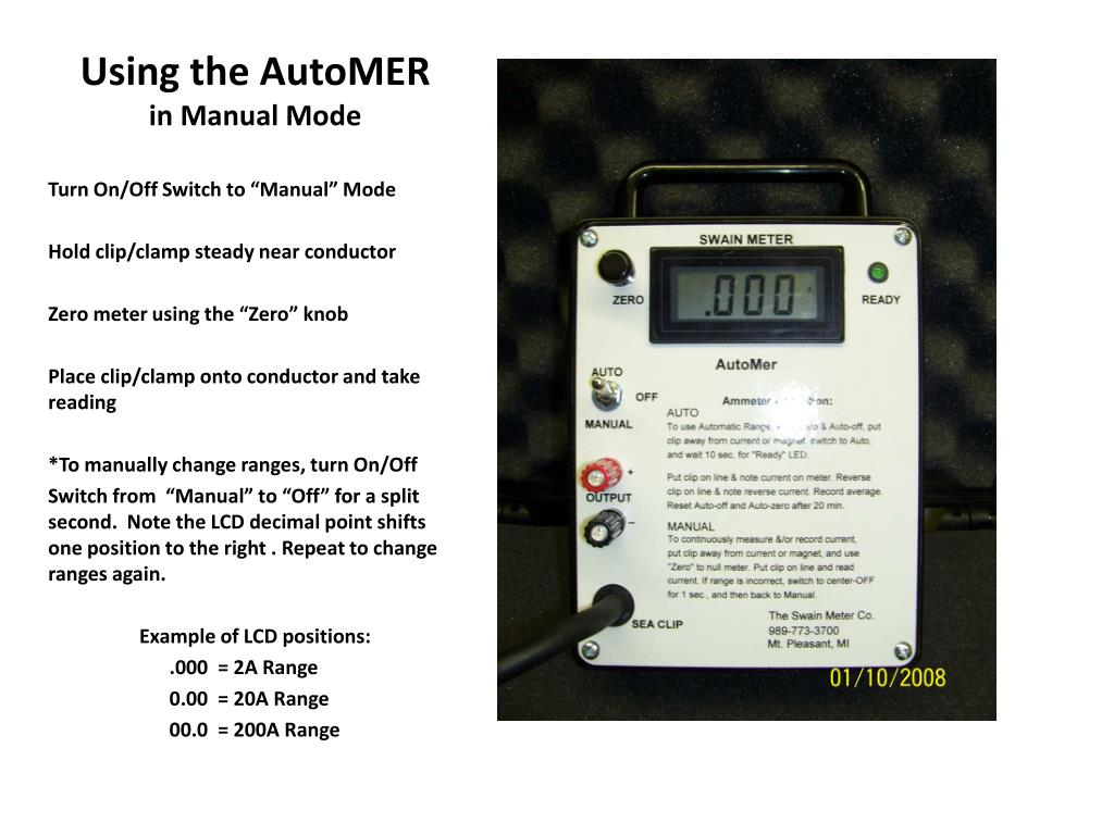 Using the AutoMER