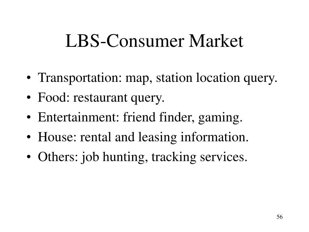 LBS-Consumer Market