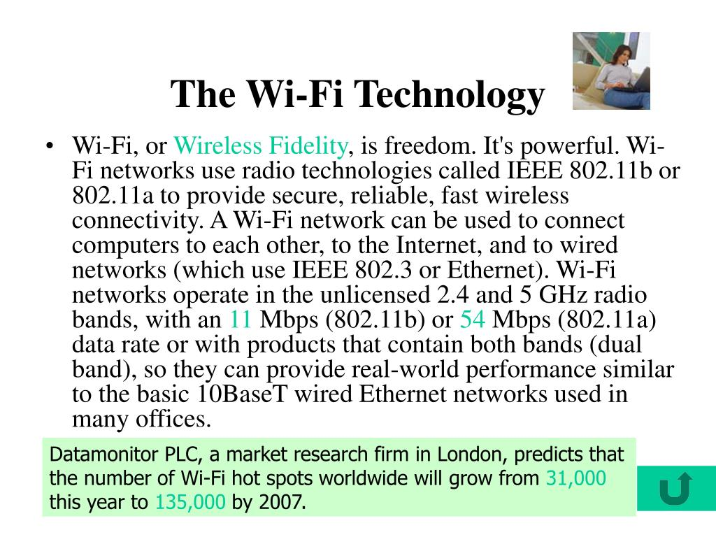 The Wi-Fi Technology