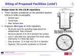 siting of proposed facilities cntd43