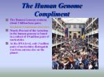 the human genome compliment8