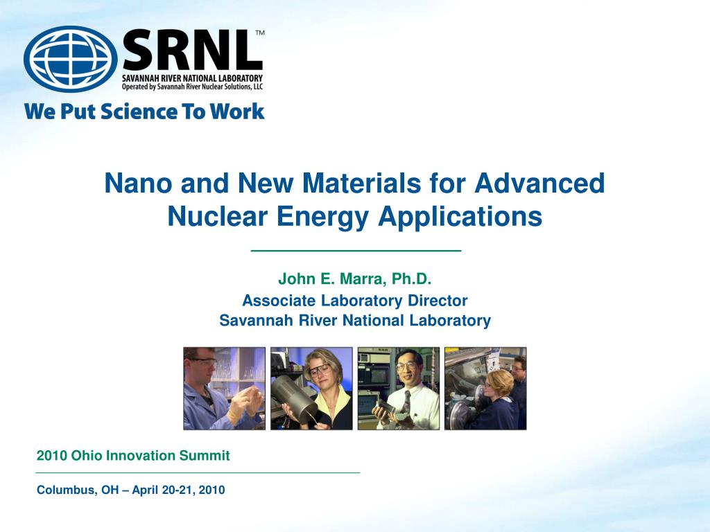 nano and new materials for advanced nuclear energy applications l.