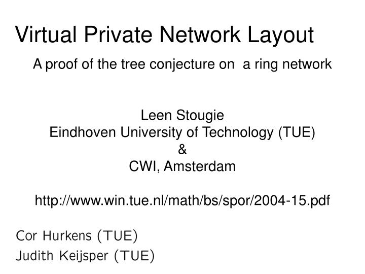 virtual private network layout n.