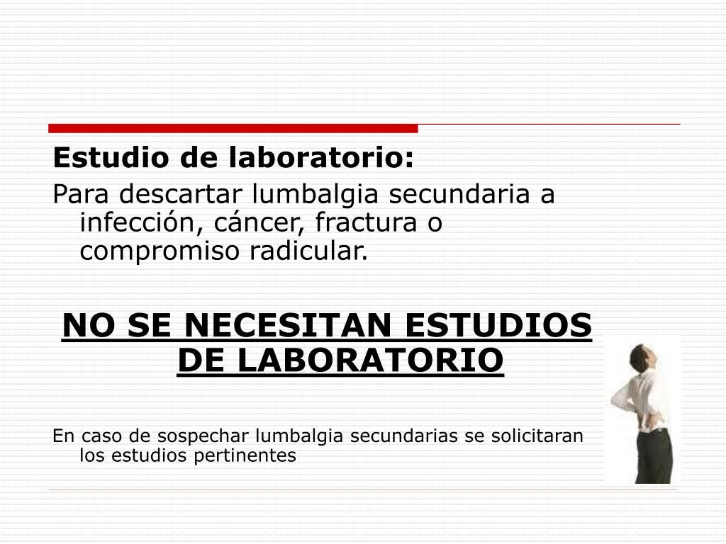 Estudio de laboratorio: