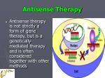 antisense therapy23