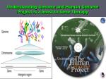 understanding genome and human genome project is a boost to gene therapy