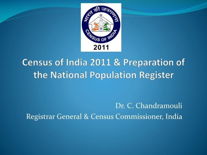 census of india 2011 preparation of the national population register n.