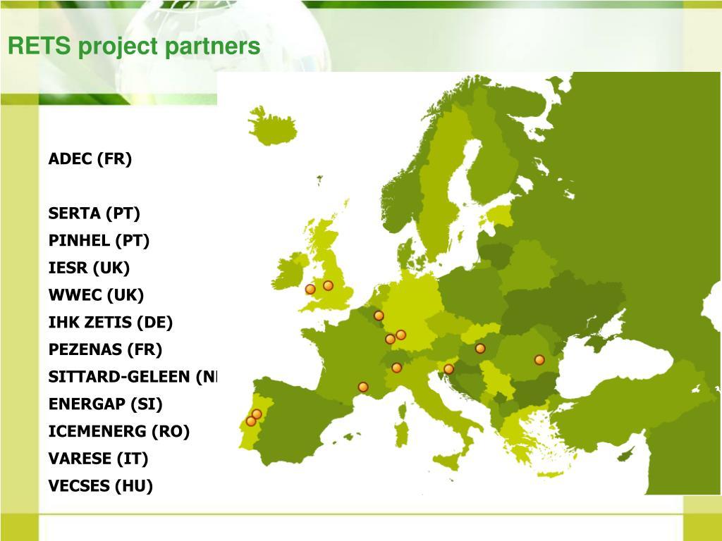 RETS project partners
