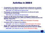 activities in 2008 931