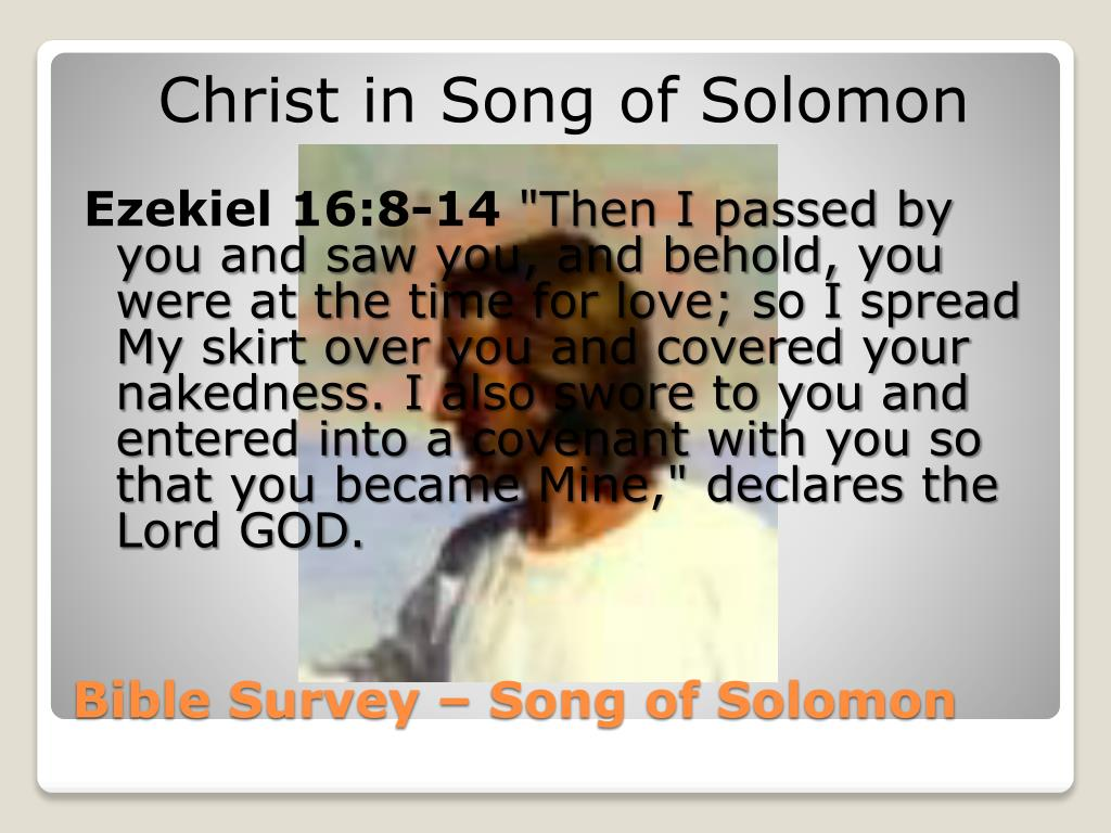 biblical references in song of solomon