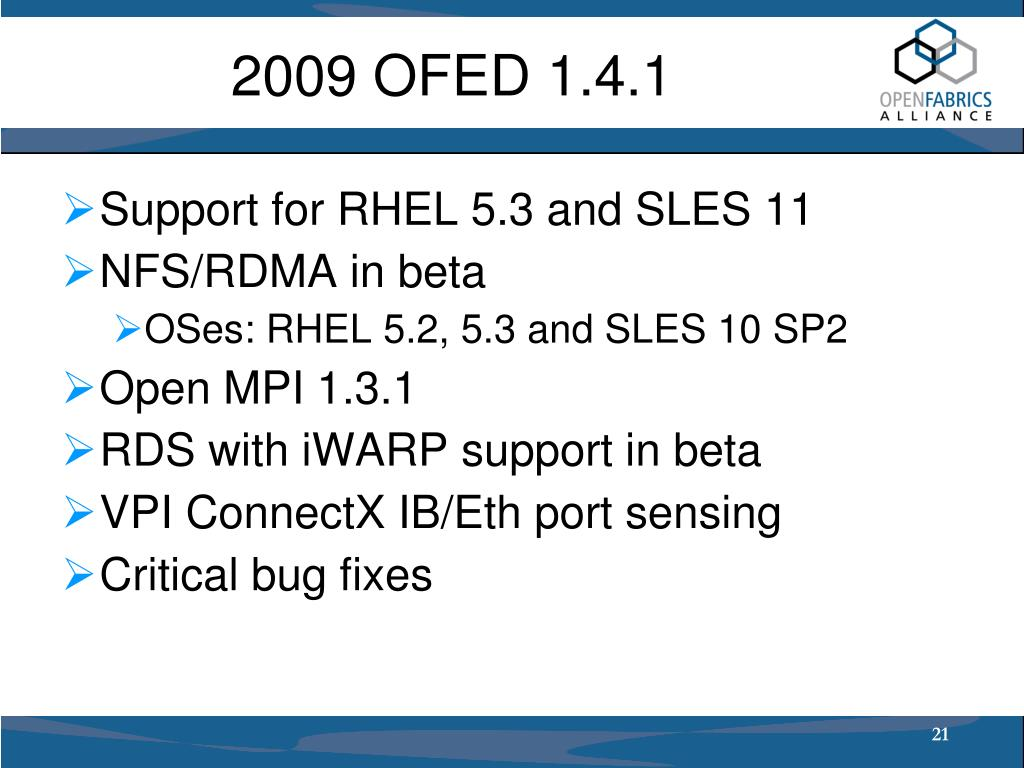PPT - IDC HPC Users Forum Spring 2009 PowerPoint