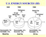 u s energy sources iii