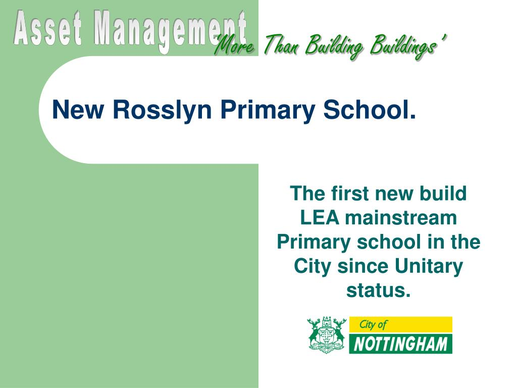 new rosslyn primary school l.