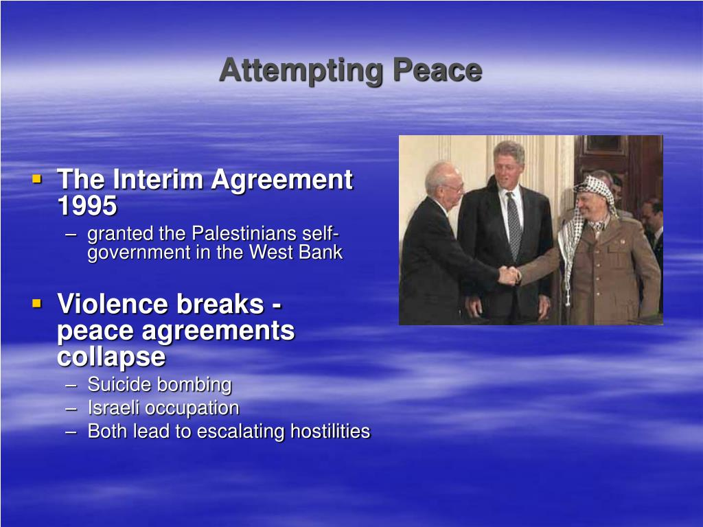 Attempting Peace
