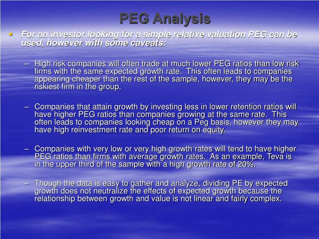 PEG Analysis