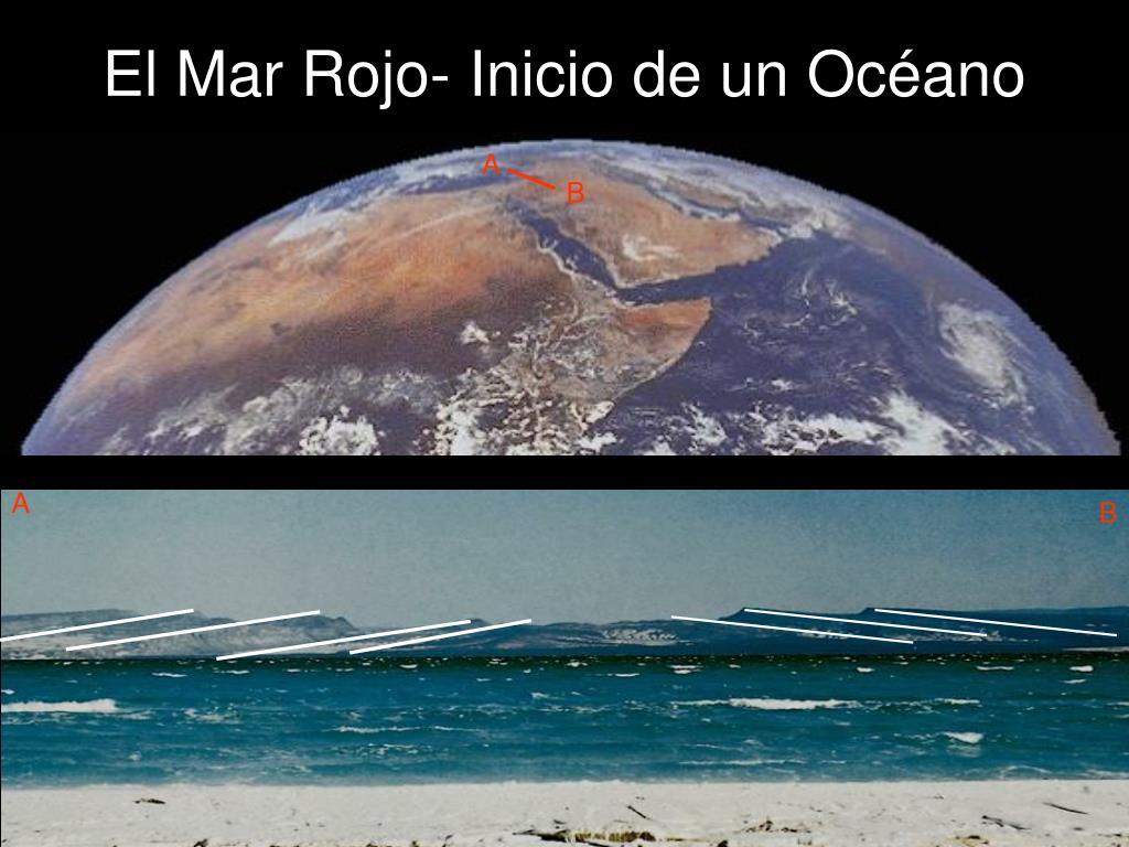 El Mar Rojo- Inicio de un Océano