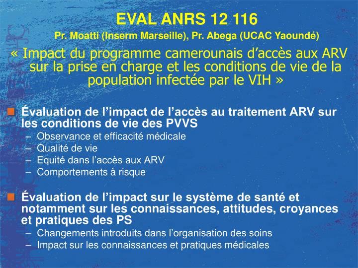 « Impact du programme camerounais d'accès aux ARV sur la prise en charge et les conditions de vi...