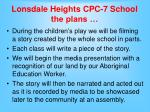 lonsdale heights cpc 7 school the plans15