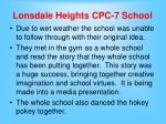 lonsdale heights cpc 7 school16