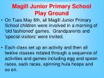 magill junior primary school play ground
