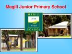 magill junior primary school