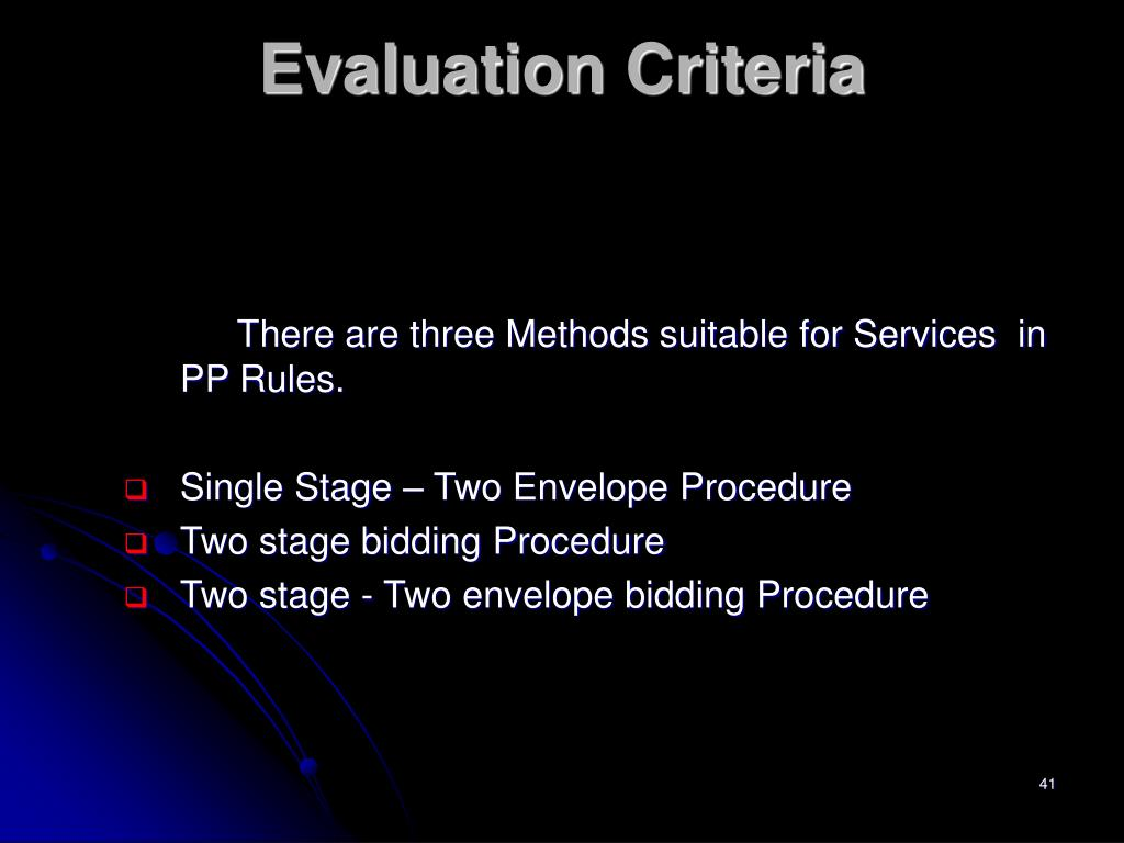 There are three Methods suitable for Services  in PP Rules.