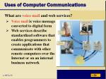 uses of computer communications11
