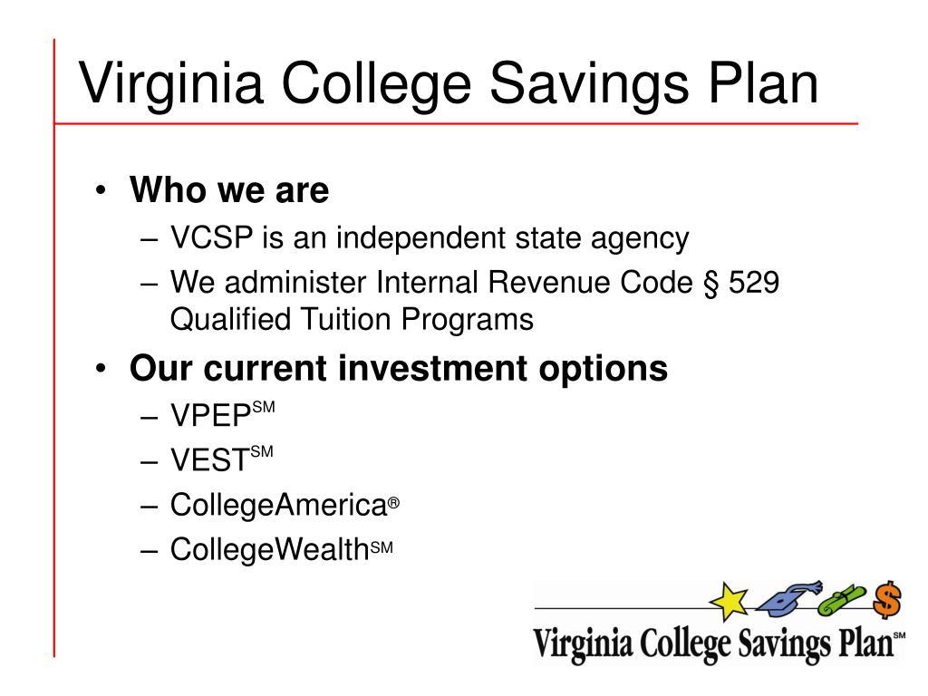 Virginia College Savings Plan