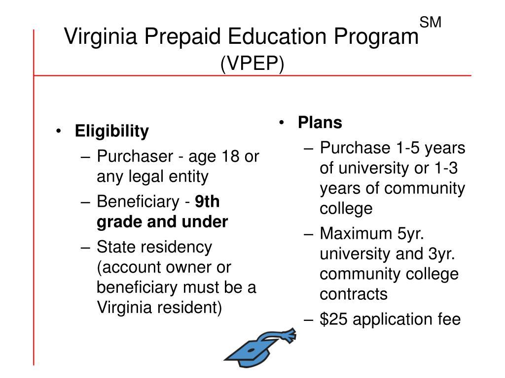Virginia Prepaid Education Program