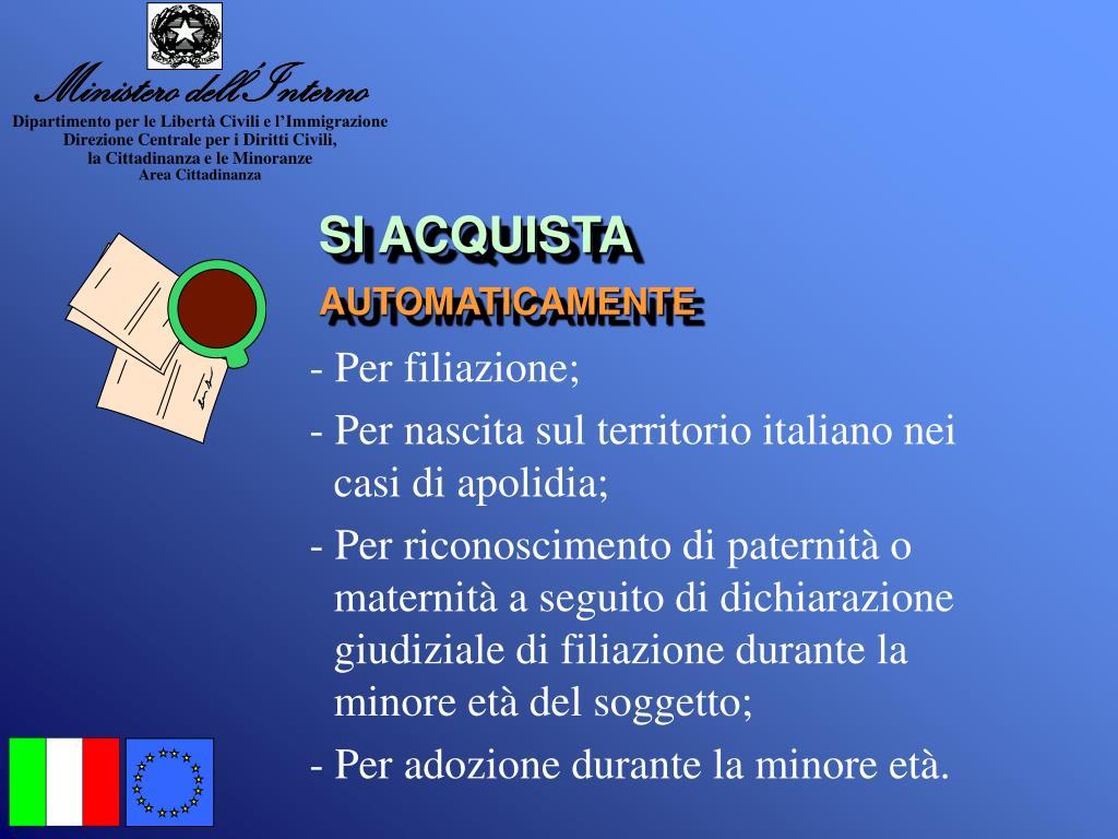Ministero dell interno italiano 28 images ppt la for Interno italiano