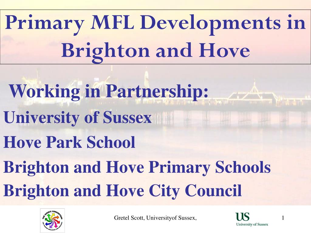 primary mfl developments in brighton and hove l.