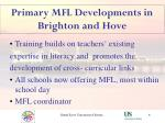 primary mfl developments in brighton and hove6