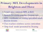 primary mfl developments in brighton and hove7