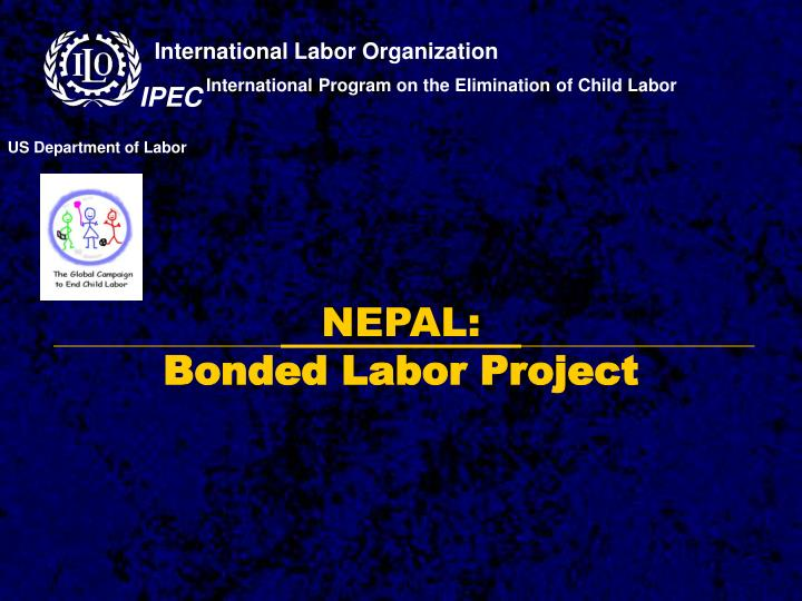 nepal bonded labor project n.