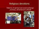 religious devotions