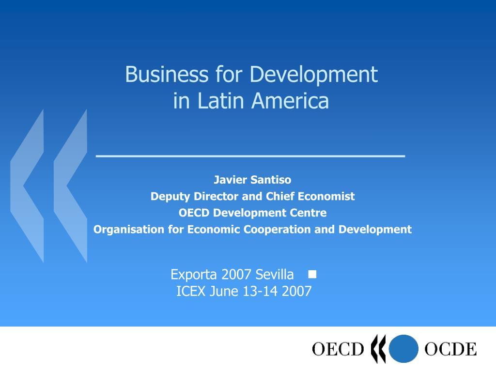 business for development in latin america l.