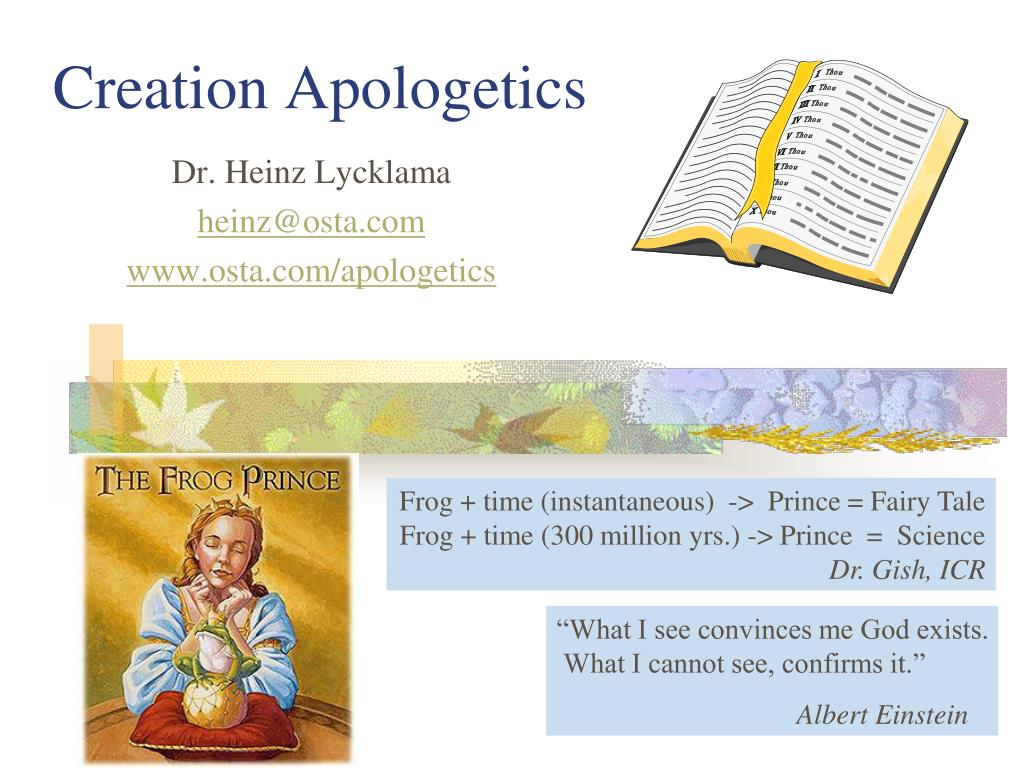 creation apologetics l.