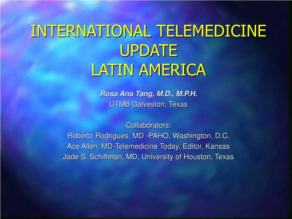 international telemedicine update latin america l.