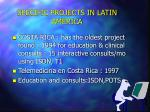 specific projects in latin america33