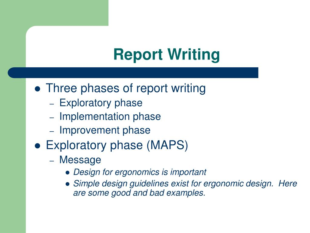 Technical report writing skills ppt.