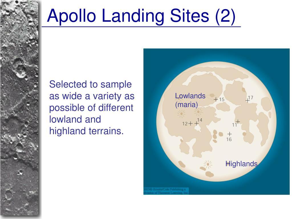 Apollo Landing Sites (2)