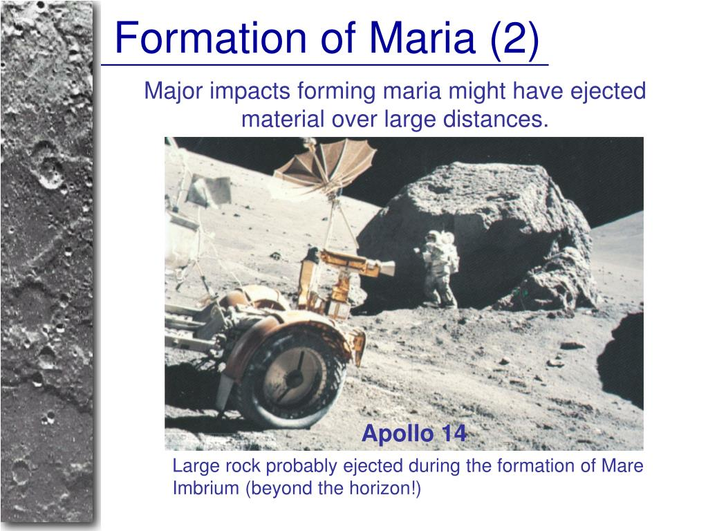 Formation of Maria (2)